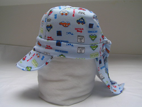 Dětská pirátka na zavazování