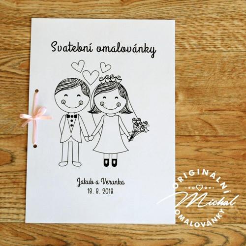 Svatební omalovánky - TYP 57