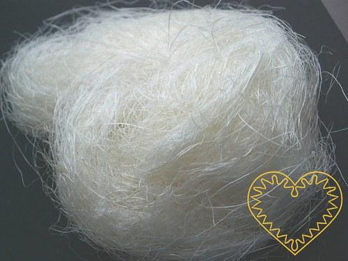 Sisal přírodní - 100 g (kokosové vlákno)