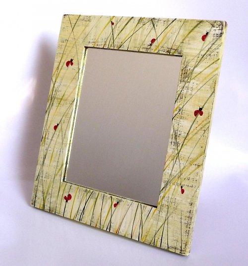 zrcadlo s trpaslíkem - berušky