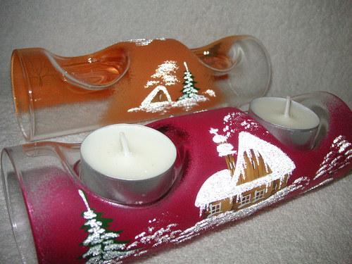 Na 2 svíčky...červený
