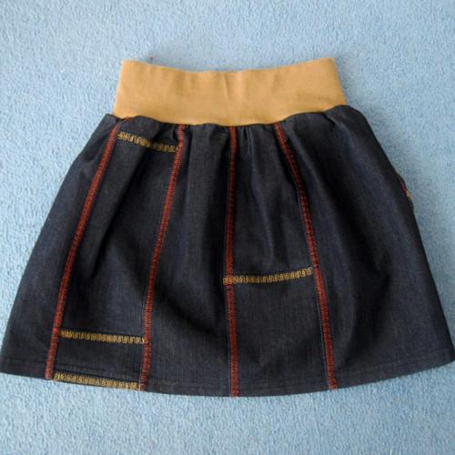 Dětská sukně džínová