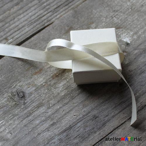 Papírová krabička zavazovací S bílá