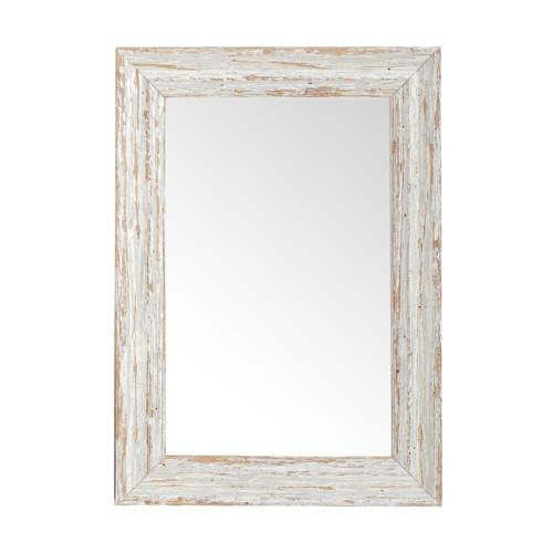 Zrcadlo Brittany White 30 x 40 cm