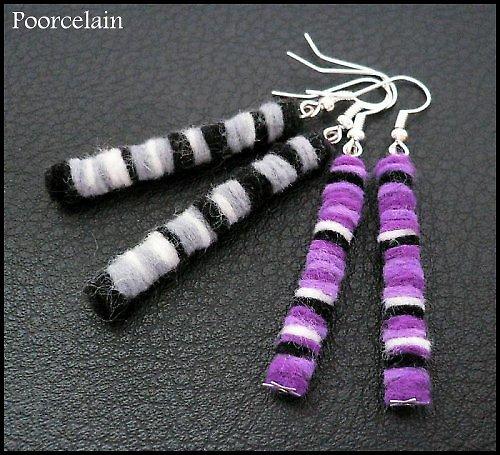 Lemuří ocásky mají fialový přeliv  :)