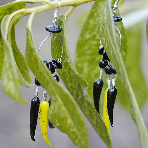 Papričky žluté a černé