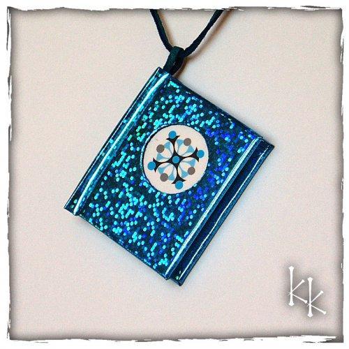 Tyrkys - knížka s motivem ornamentu