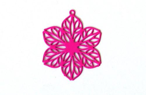 Měděný květ - růžový