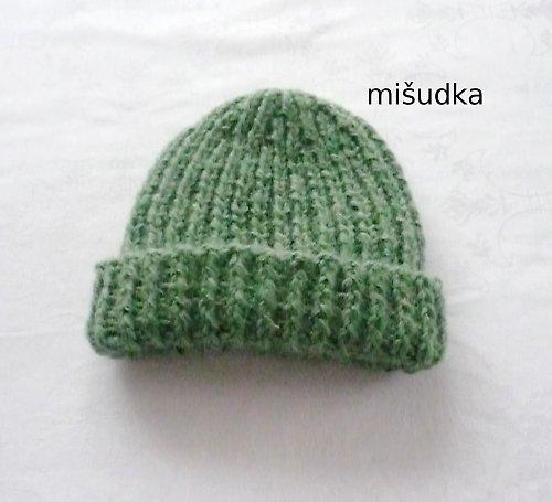 Čepice jako od maminky - zelená 1.