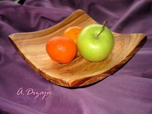 Moderná misa so sprchnutej jablone / objednávka