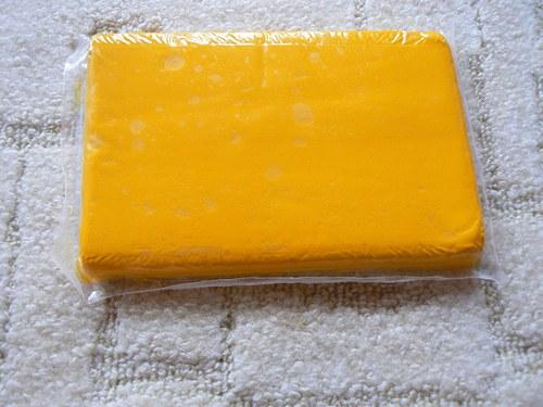 Samoschnoucí hmota Color Plus oranžově žlutá 500g