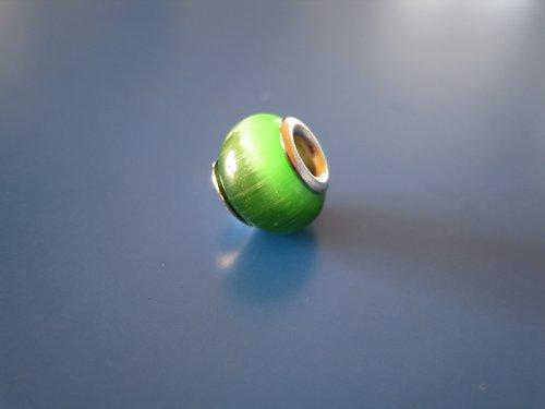 Korálek - kočičí oko zelená