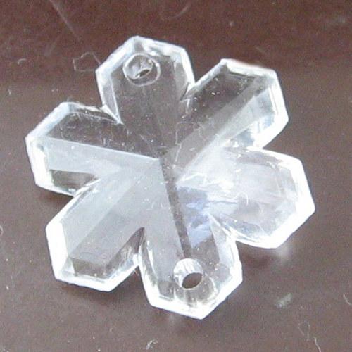 Sněhová vločka - 2 ks
