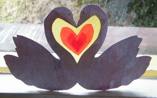 Labutí láska - set na výrobu
