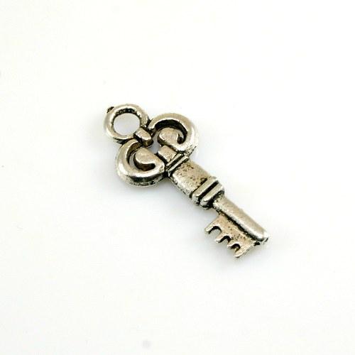 Přívěsek - klíček 28 mm, 1 ks