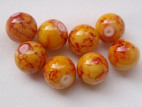 Kraklované kuličky č. 1 - 6 mm