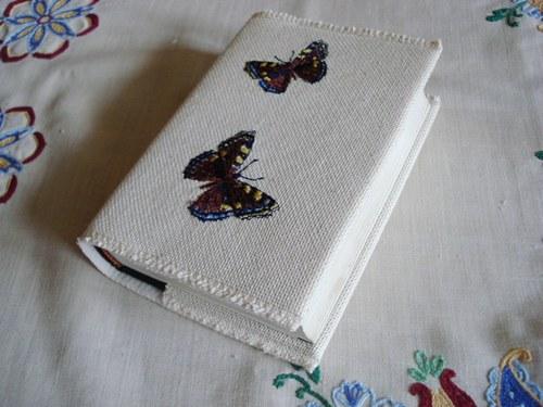 Obal na knihu s motýlky °