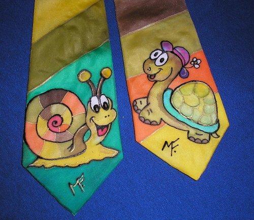 veselé kravatky