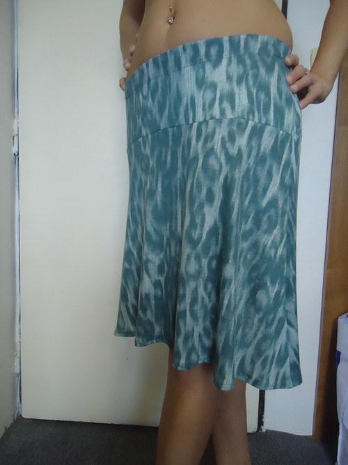 sukně úplet