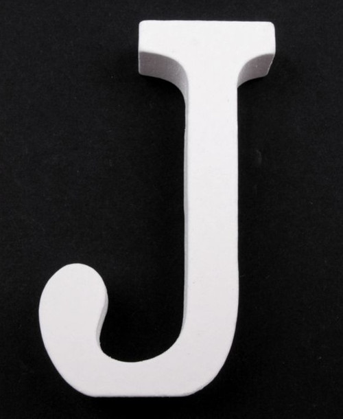 3D dekorace písmena abecedy výška 8 cm