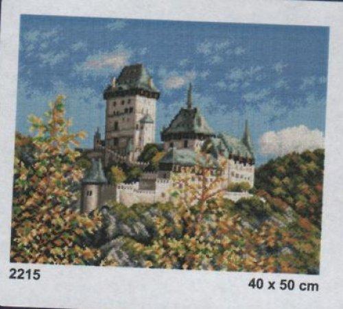 Předloha na vyšívání 40 x 50 cm Karlštejn