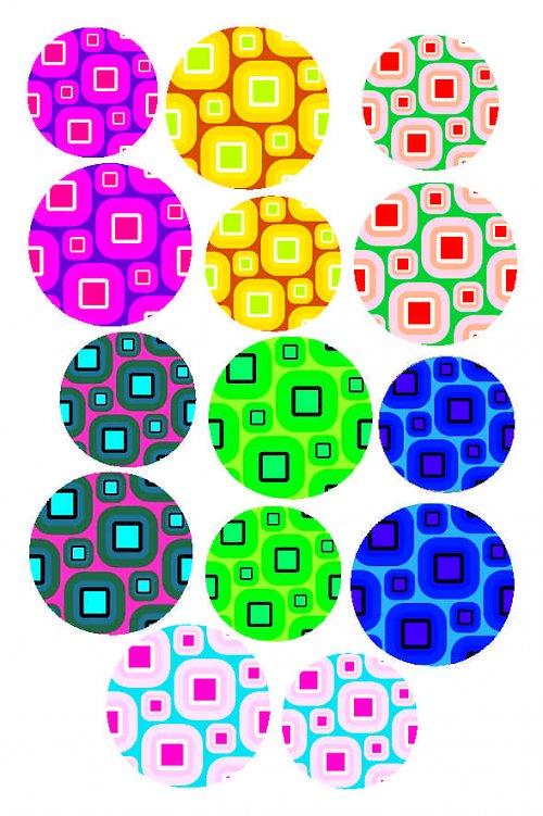 hrátky s barvami kolečka