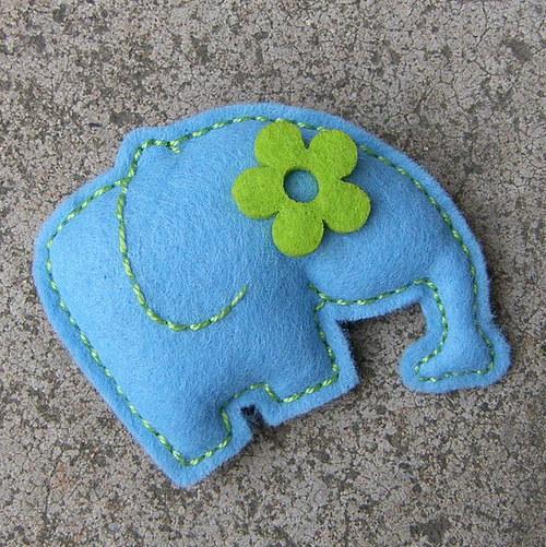 Modrý sloník Květoš