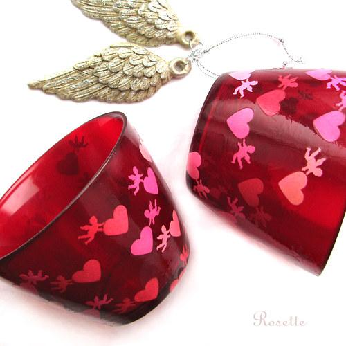 Na křídlech lásky - sklenka