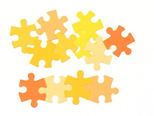 Puzzle (větší) - 12 ks