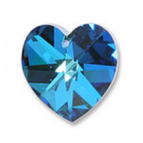 Srdce 10,3 x 10 mm CBBL Swarovski Elements