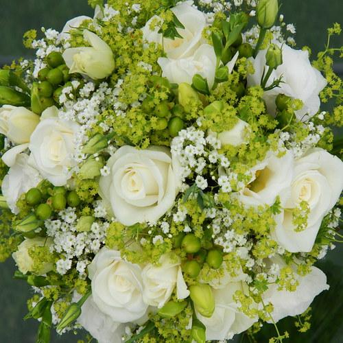 Zeleno-bílá svatba