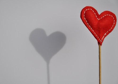Srdce zápich