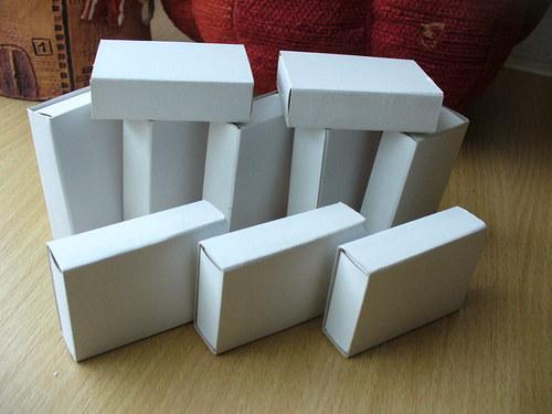 Zápalkové krabičky - 24kusů