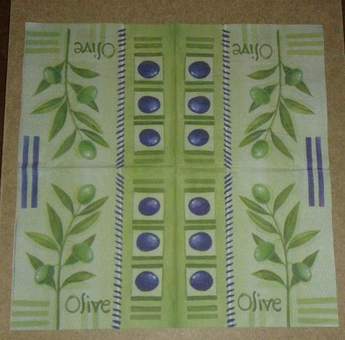 ubrousky oliv