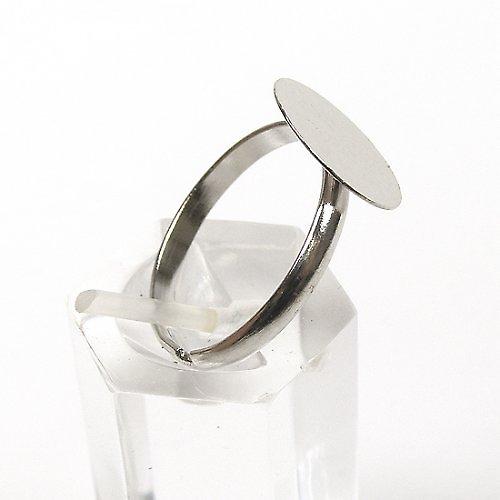 Prsten s Úzkým Kroužkem 12mm - Platinový