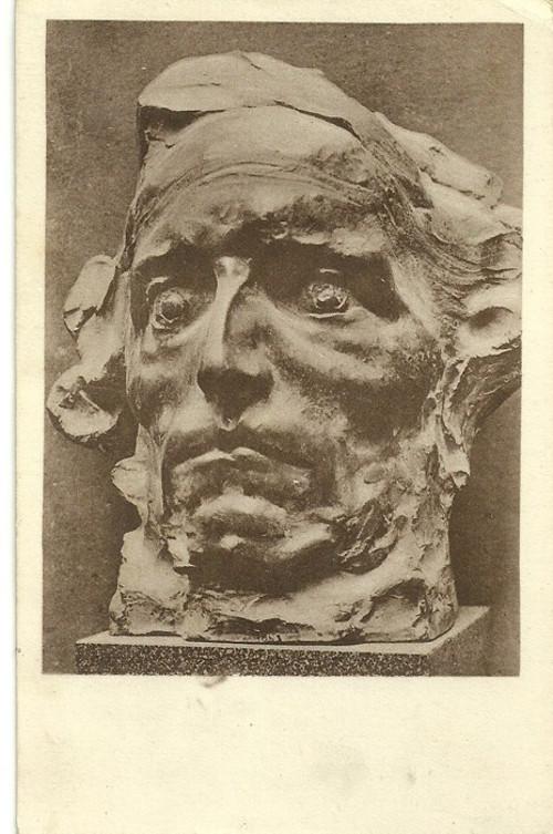 Umělecká pohlednice sochař Lad.Šaloun