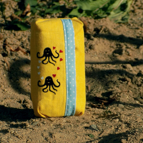"""Obal na kapesníky \""""Zamilované chobotničky II\"""""""
