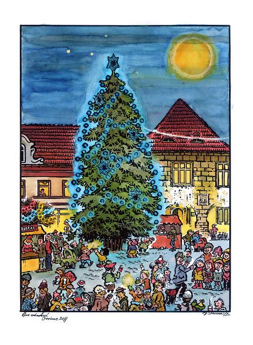 Jan Severa - Čas vánoční - prosinec 2011