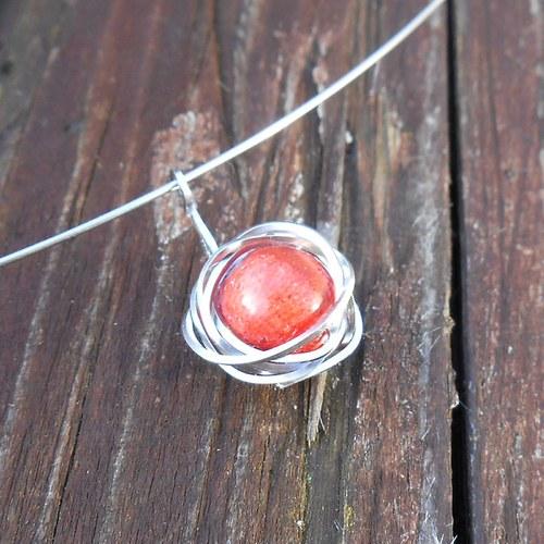 náhrdelník z korálu