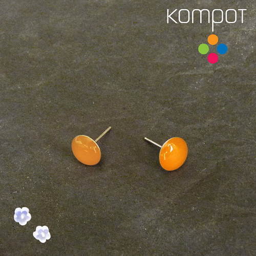 KAPKY :: neonově oranžové