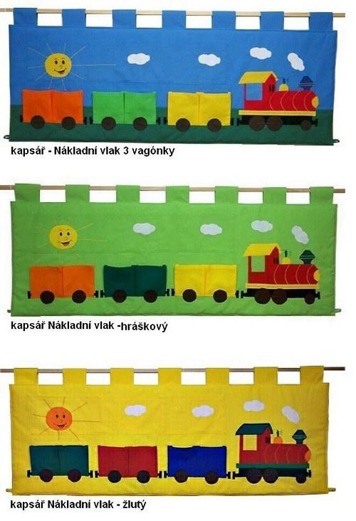 Kapsář Vláček - 3 vagónky