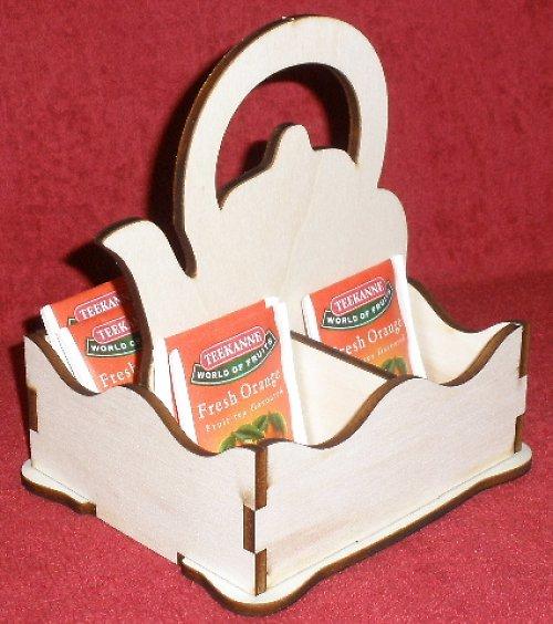 *Stojánek na čaj 4 komory - motiv KONVIČKA