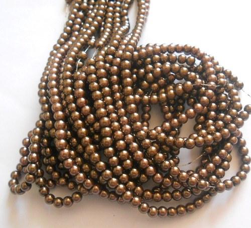 Voskové perličky 6 mm - 40 ks