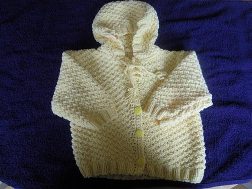 Kojenecký kabátek