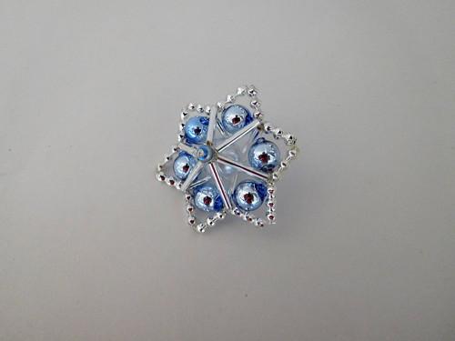 Modrá vánoční hvězda