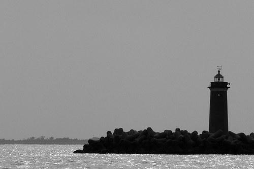 Maják před Benátkami