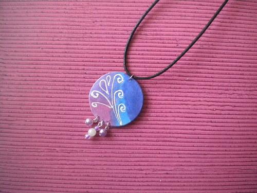 Pracovní návod na autorský šperk z hedvábí