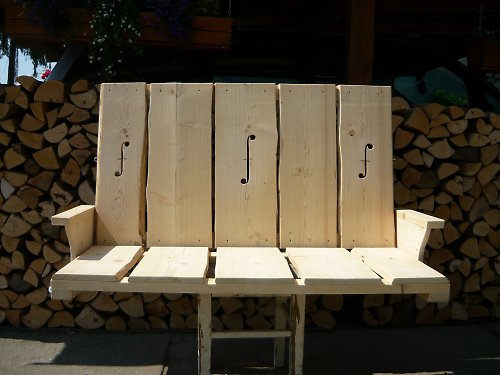 Závěsná houpací lavice