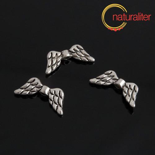 Křídla - kovový korálek 20x9mm, 2ks