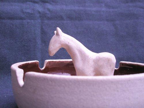 Miska s koníkem!